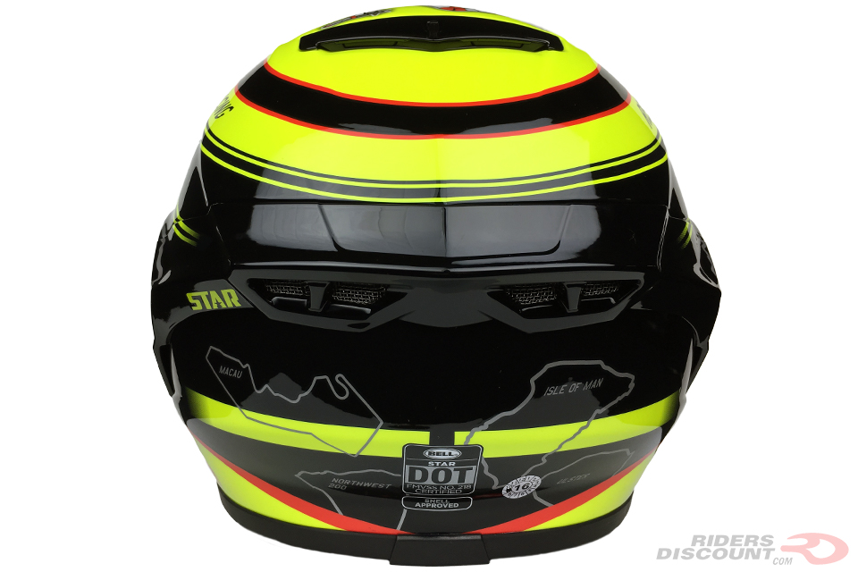 Bell Star Isle Of Man Helmet - Click Image For More Information