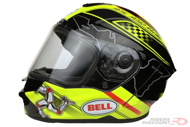 Bell Star Isle Of Man Helmet