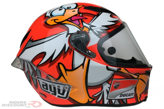 AGV Corsa Iannone Winter Test 2016 Helmet