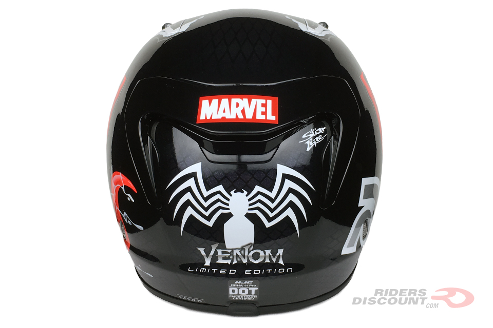HJC RPHA 11 Pro Marvel Venom Helmet - Click Image To Purchase