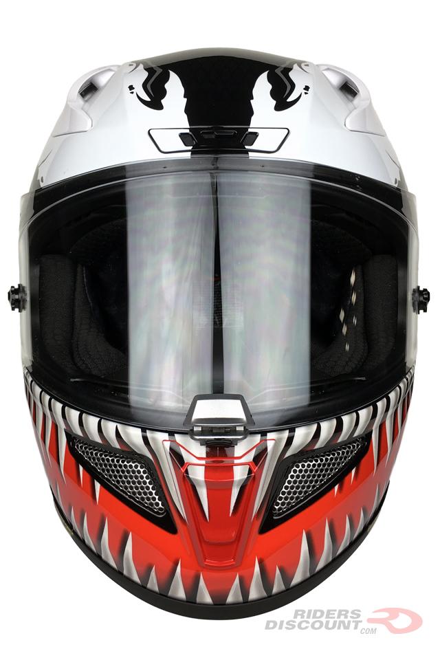 HJC RPHA 11 Pro Marvel Venom Helmet - Click Image To Purchase - MSRP $604.99