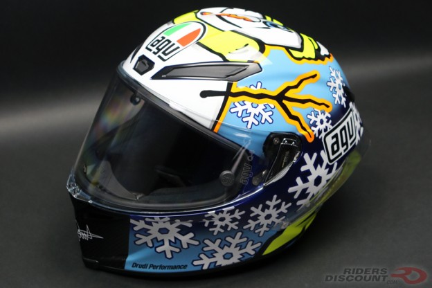 AGV Pista GP Rossi Winter Test 2016 Helmet