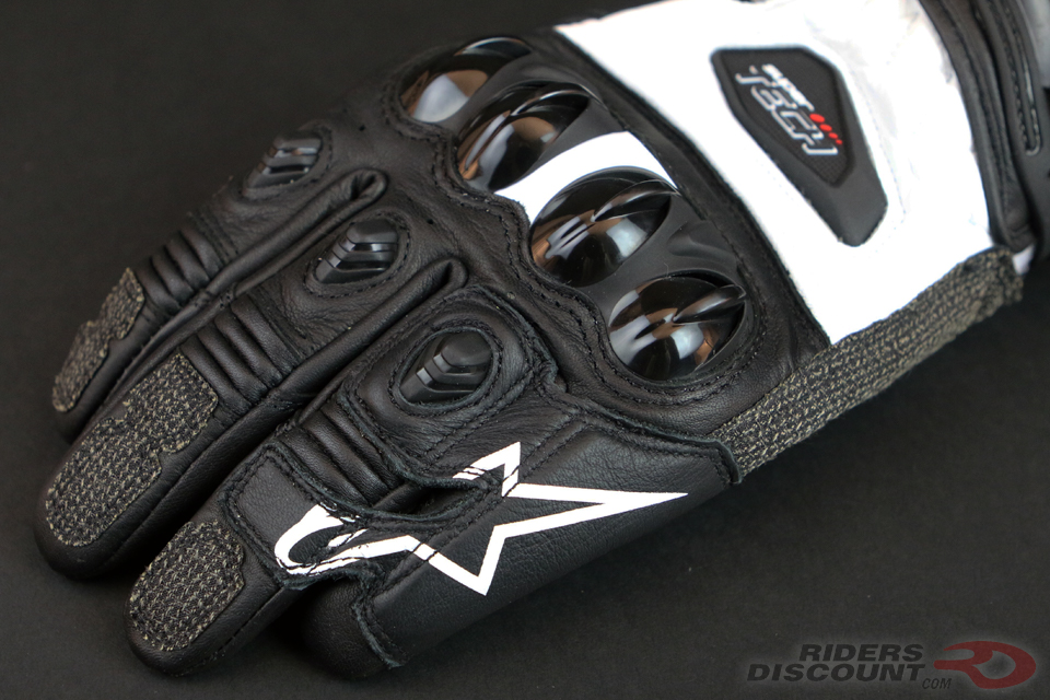 Alpinestars Supertech Leather Gloves - Click Image For More Information