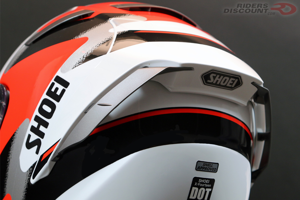 Shoei X-Fourteen Rainey Helmet - Click Image For More Information