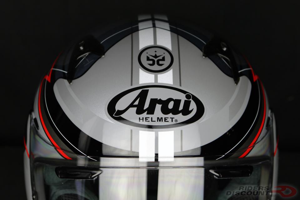 Arai Signet-Q Brett King Design Frequency Helmet - Click Image For More Information