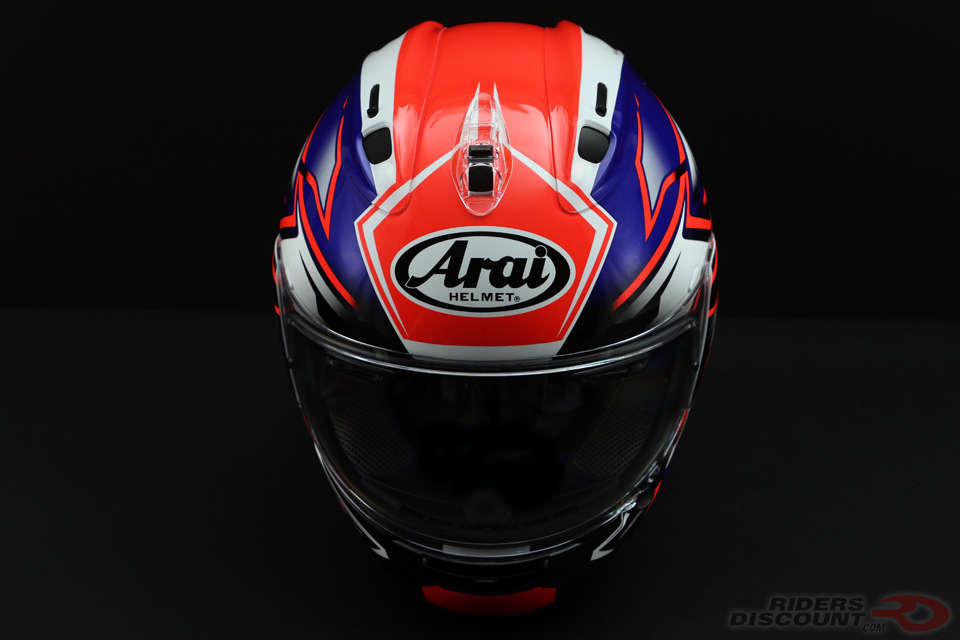 Arai Corsair-X Ghost Helmet in Blue