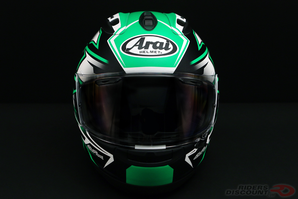 Arai Corsair-X Ghost Helmet in Green