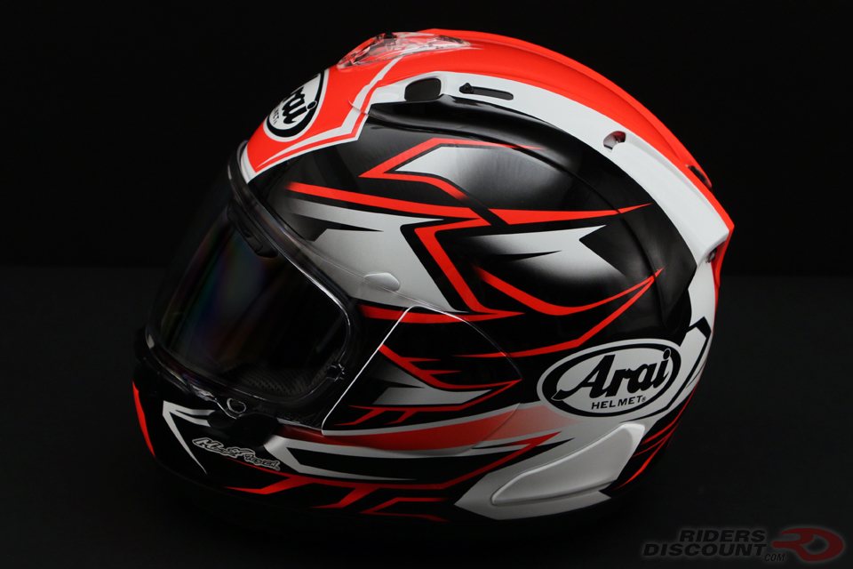 Arai Corsair-X Ghost Helmet in Red