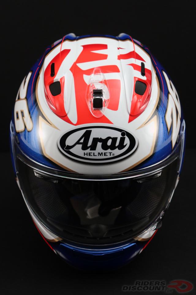 Arai Corsair-X Pedrosa Samurai Helmet