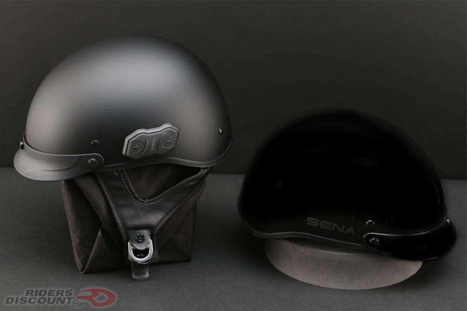 Sena Cavalry Bluetooth Half Helmet