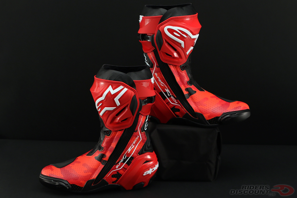 alpinestars limited edition 99 camo supertech r boots. Black Bedroom Furniture Sets. Home Design Ideas