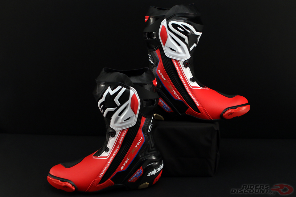 alpinestars limited edition victory supertech r boots. Black Bedroom Furniture Sets. Home Design Ideas