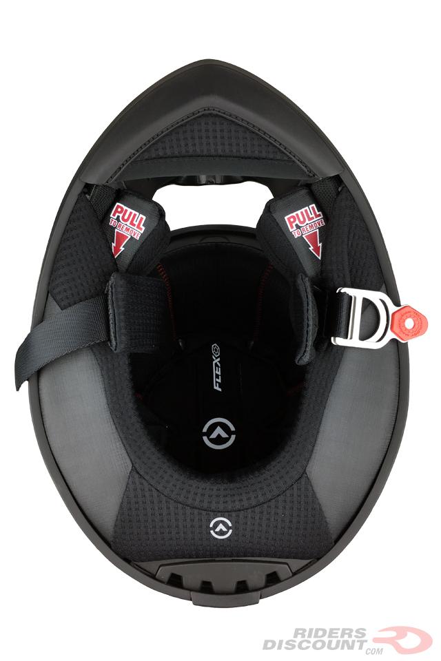 Bell Pro Star Helmet Interior