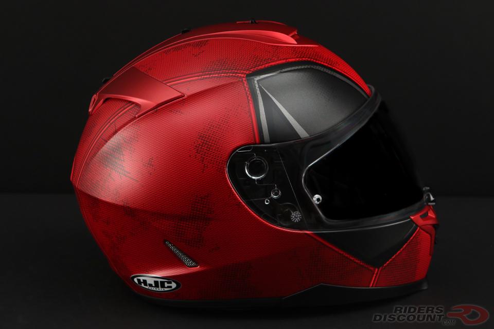 HJC IS-17 Deadpool Helmet