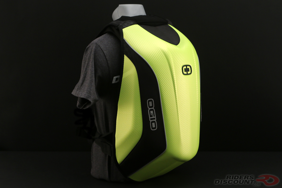 OGIO No Drag Mach 5 Backpack in Hi-Vis