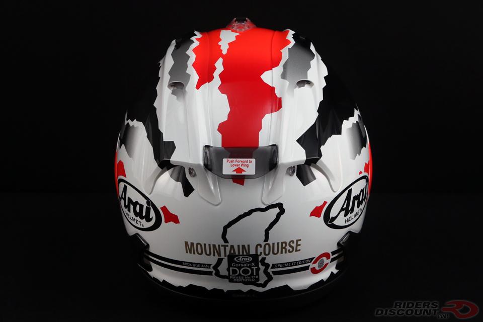 Arai Corsair-X Doohan TT Helmet