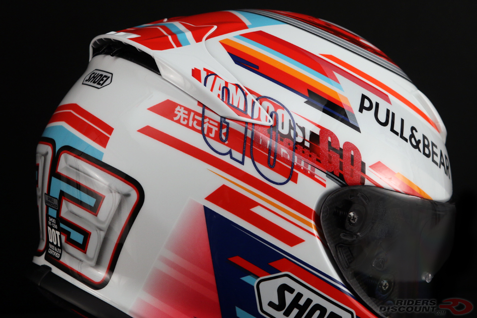 Shoei RF-1200 Marquez Power Up Helmet