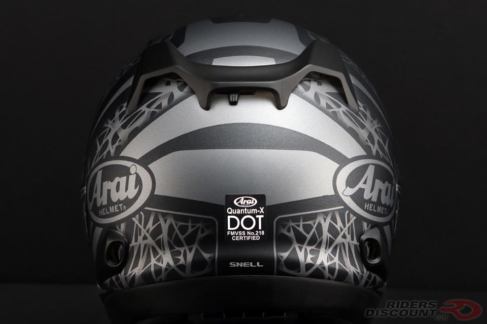 Arai Quantum-X Sting Black Frost Helmet