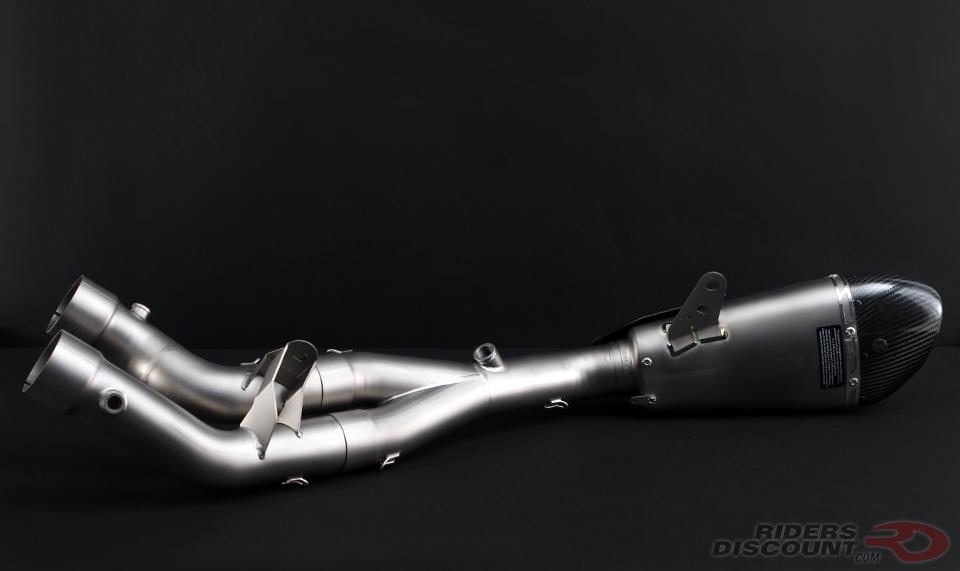 Yoshimura Alpha T 3/4 Titanium System Yamaha R1 2015-16