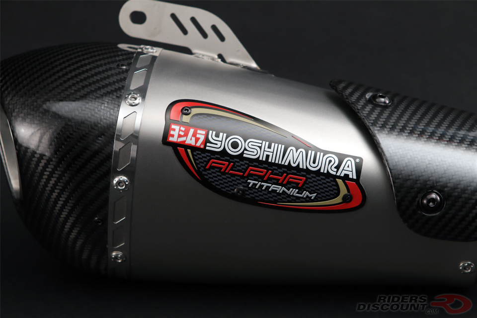 Yoshimura Alpha T 3/4 Exhaust Kawasaki ZX-10R/RR 2016-17