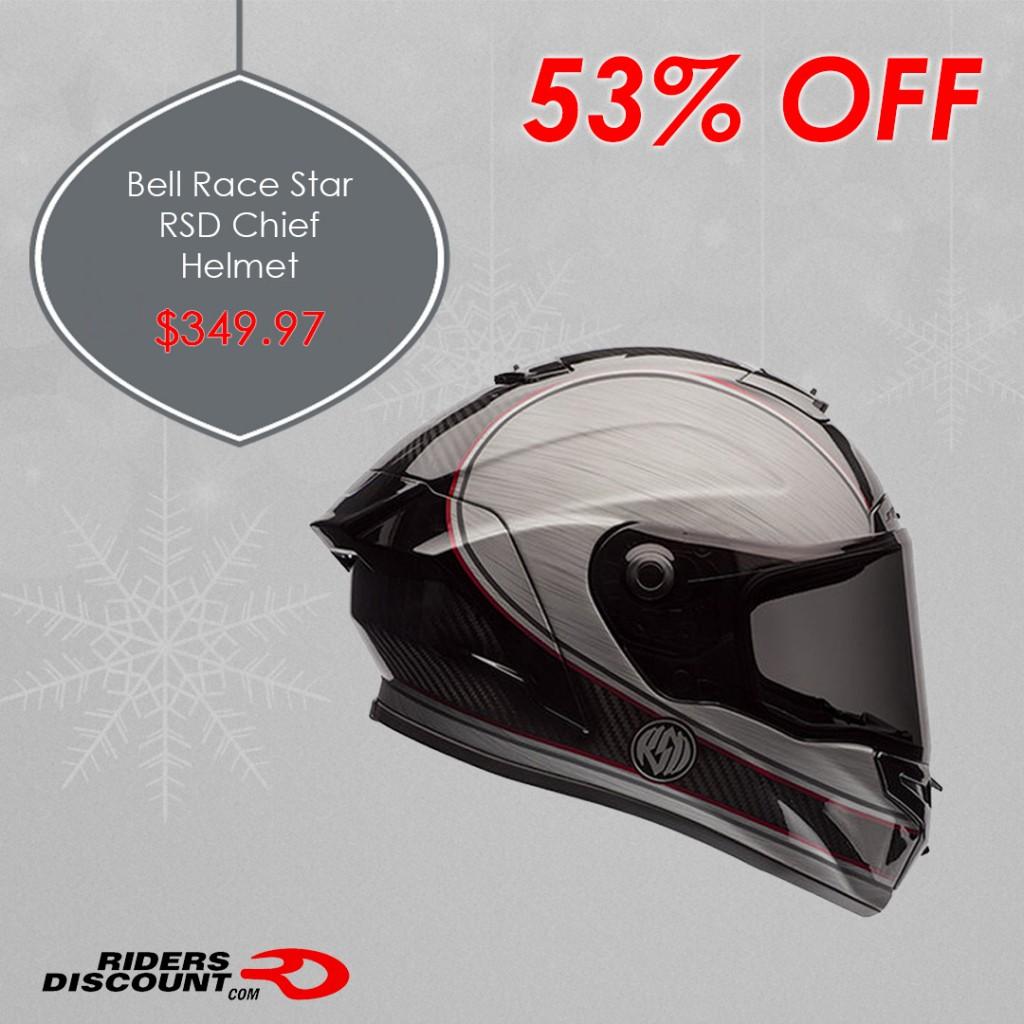 Bell Helmets Race Star RSD Chief Helmet