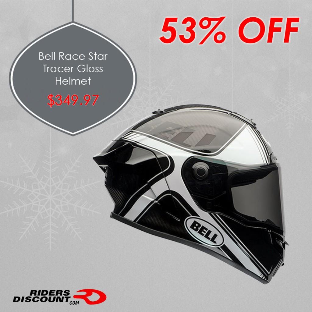 Bell Helmets Race Star Tracer Helmet