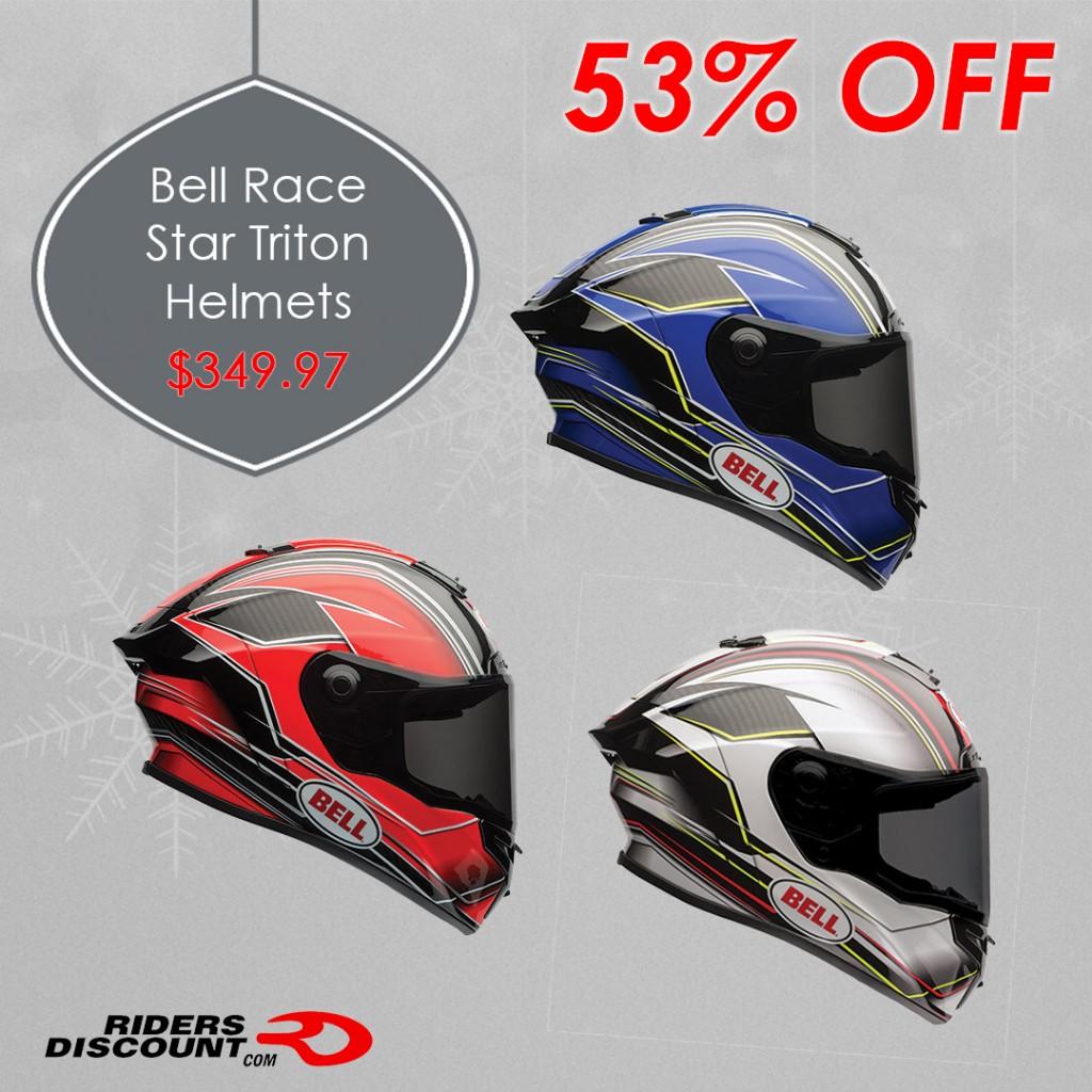 Bell Helmets Race Star Triton Helmets