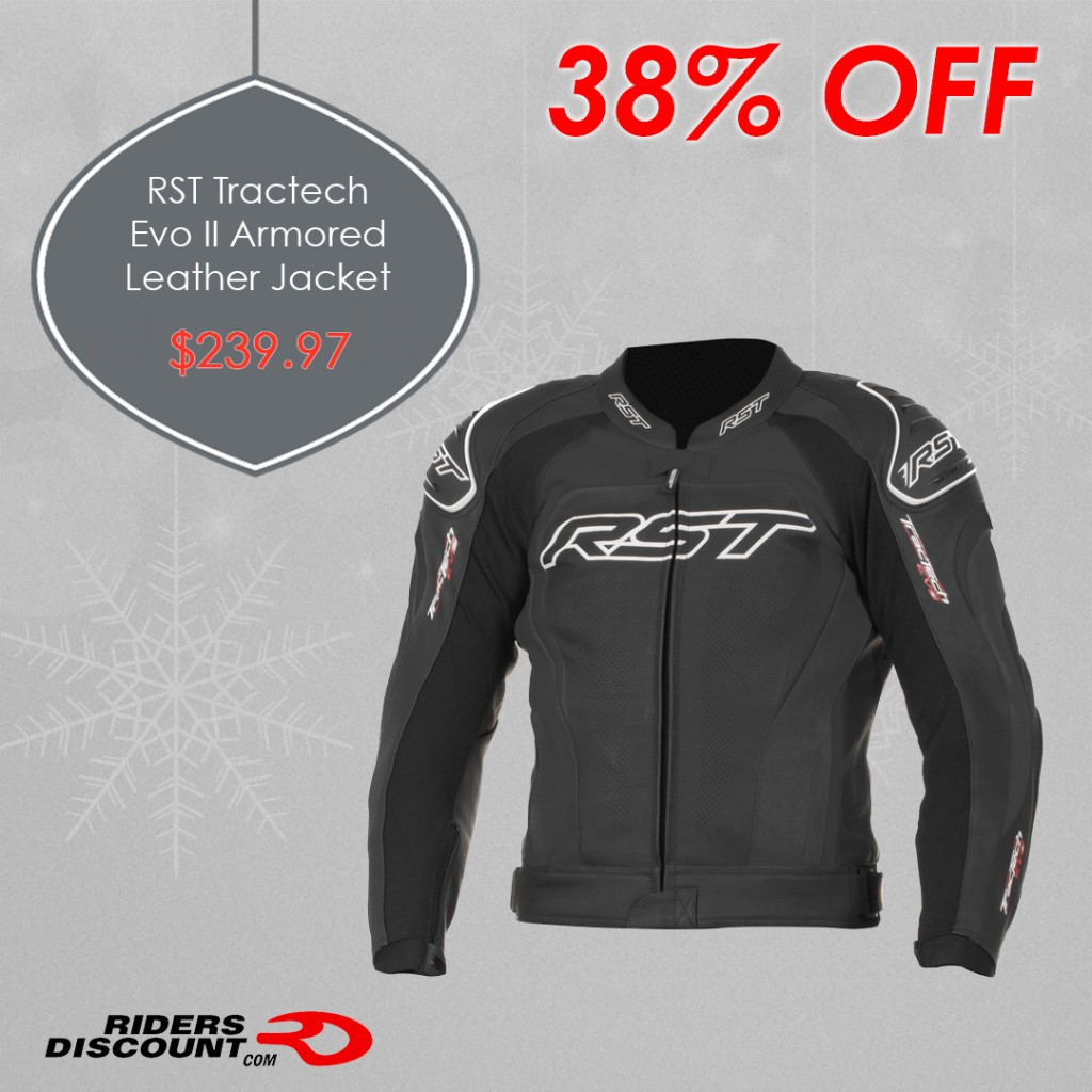 RST Tractech Evo II Armored Leather Jacket