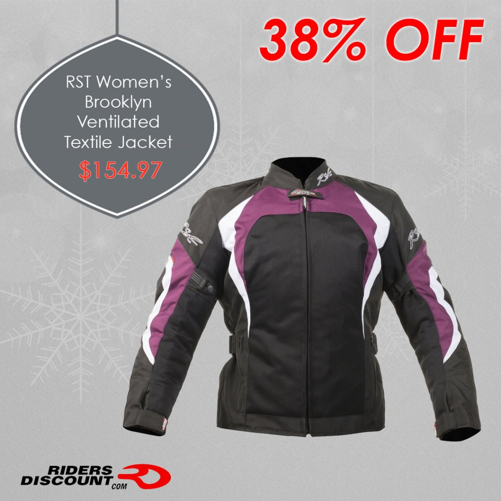 RST Women's Brooklyn Ventilated Textile Jacket