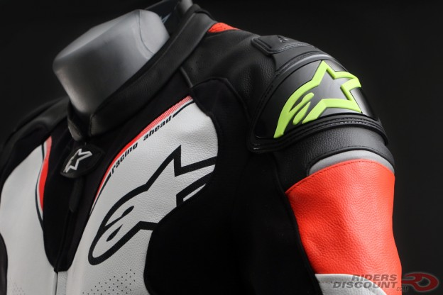 alpinestars_atem_v3_suit_black_white_red_yellow_shoulder_detail