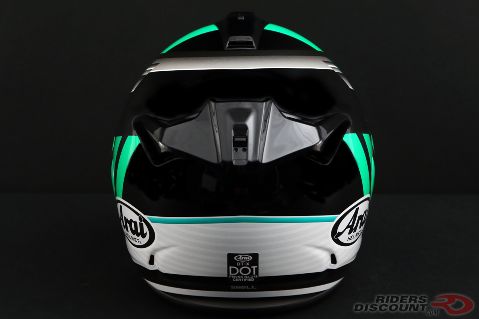 Arai DT-X Guard Helmet in Green