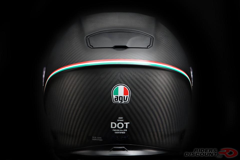 AGV SportModular Carbon Tricolore Helmet