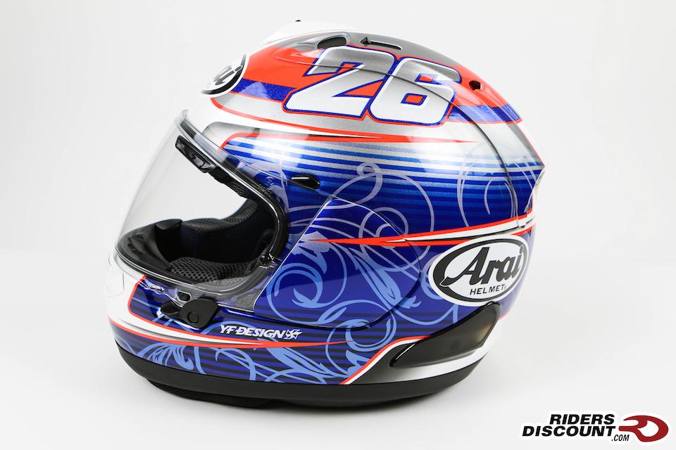 Arai Corsair-X Dani Pedrosa Helmet - Arai Corsair-X Helmet Sale