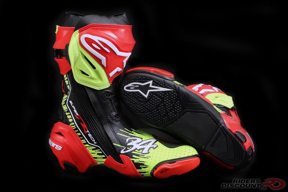 Alpinestars Limited Edition Schwantz Supertech R Boots
