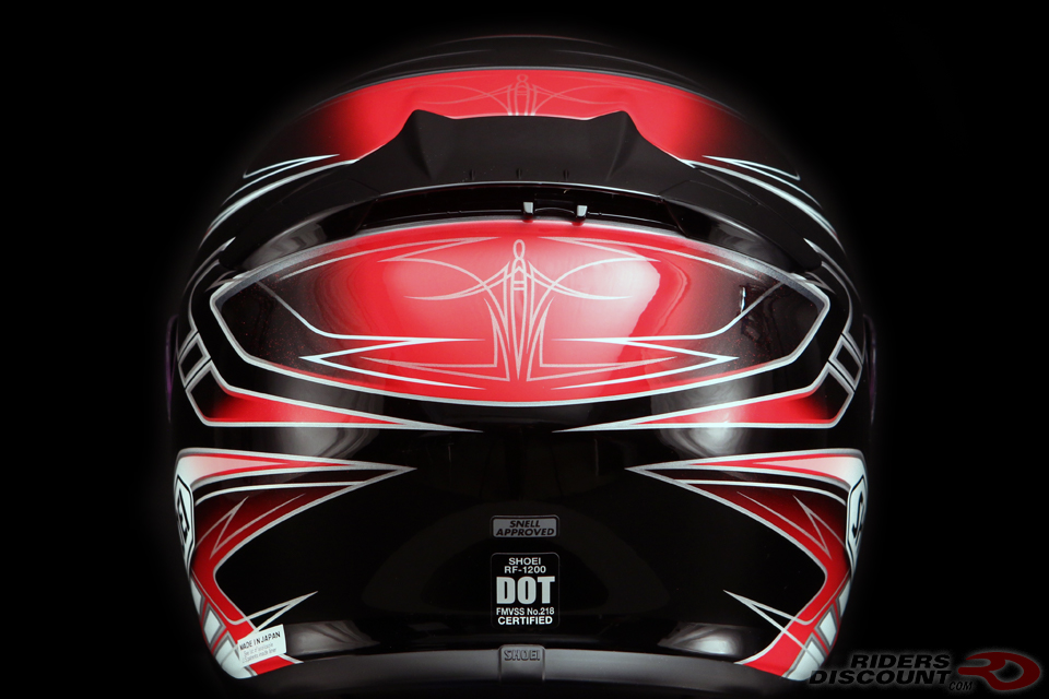 shoei_rf_1200_valkyrie_red_black_back_detail