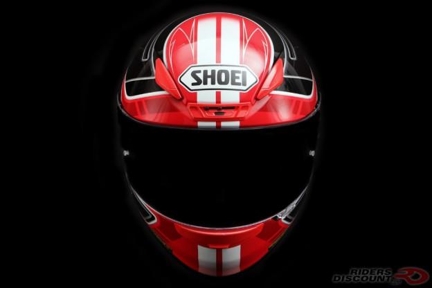 Shoei RF-1200 Valkyrie Red/Black Helmet