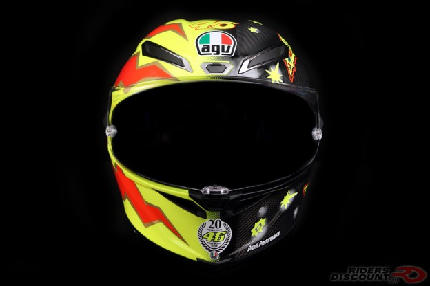 AGV Limited Edition Pista GP R Valentino Rossi 20 Years Helmet