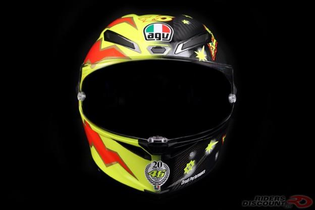 AGV Limited Edition Pista GP R Valentino Rossi 20 Years Helmet