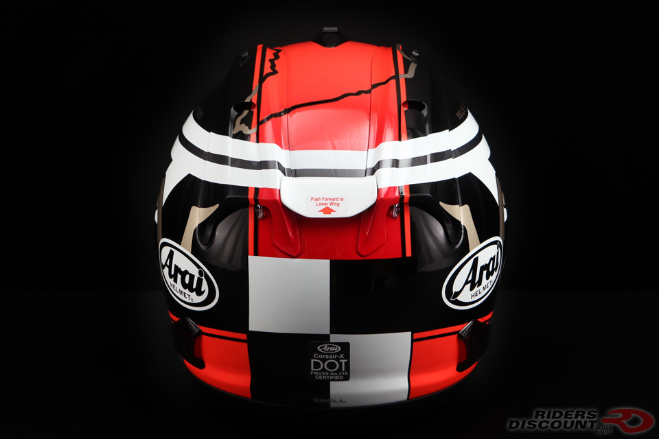 Arai Limited Edition Corsair-X IOM TT 2018 Helmet