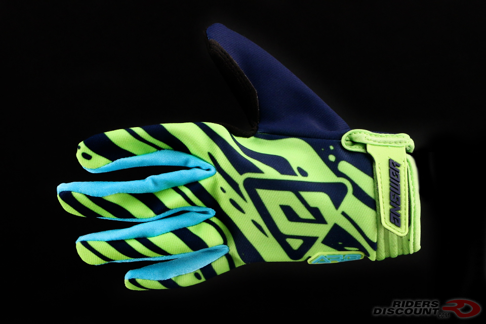 Answer Racing AR3 Gloves in Hyper Acid/Astana/Midnight