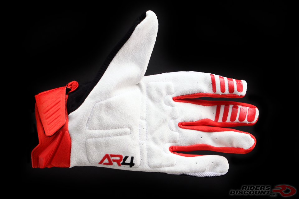 Answer Racing AR4 Gloves in Bright Red/Black