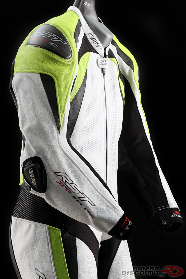 RST Pro Series CPX-C II Suit in White/Fluorescent Yellow