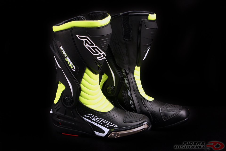RST TracTech Evo III Sport Boot In Fluorescent Yellow