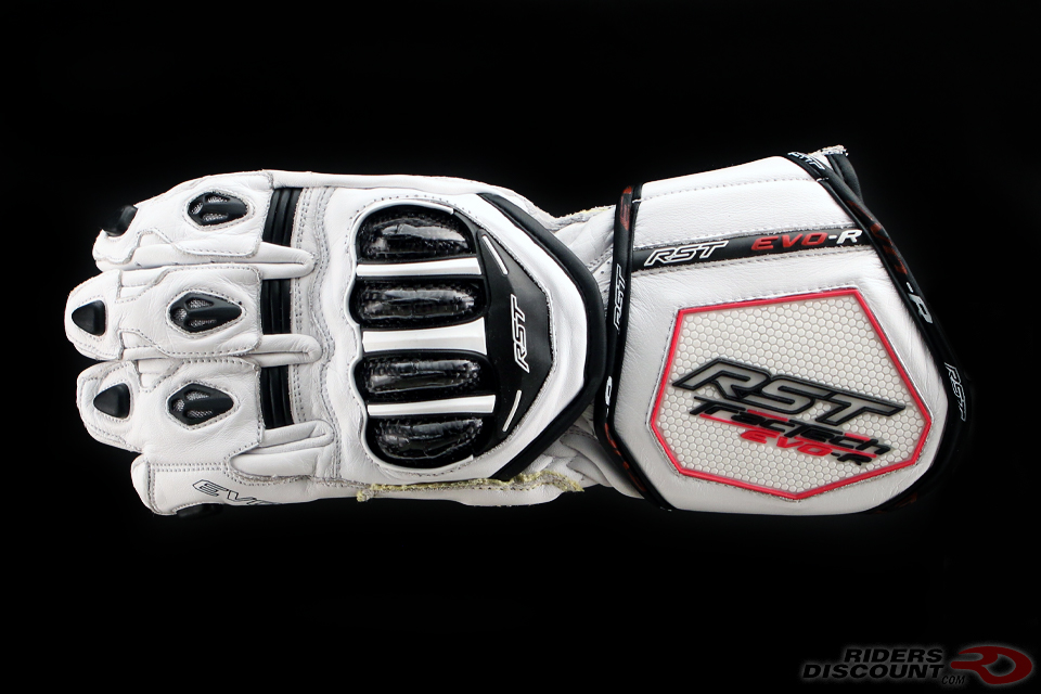RST TracTech Evo R Glove In White